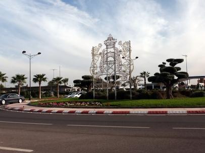 Arrivée à Marrakesh