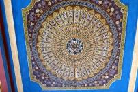 Le plafond d'une des pièces, une grande beauté