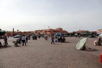 La grande place de Marrakech
