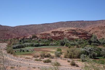 Un autre village berbère, ce sont les premiers habitants du Maroc