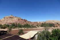 Une vue éloignée de la Casbah