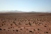 Des paysages désertiques à perte de vue