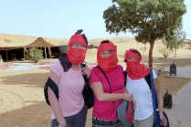Les gazelles prêtes pour le sahara