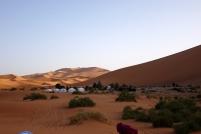 Notre camp pour la nuit