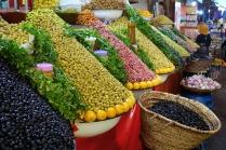 Des olives de toutes les couleurs