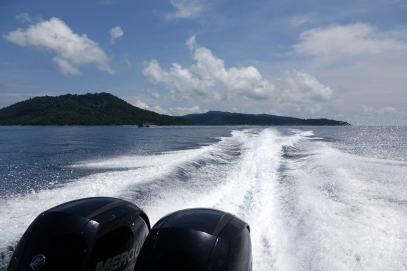 On quitte l'île