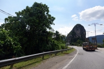 Des camions plutot lents sur la route