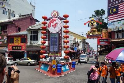 La rue populaire de Melaka