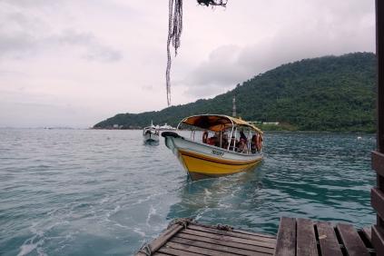 Notre bateau pendant 30 minutes