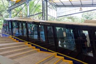 Le train pour monter Penang Hill