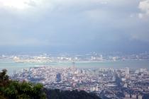Georgetown d'en haut du Penang Hill