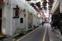 Les rues de la vielle ville de Ipoh
