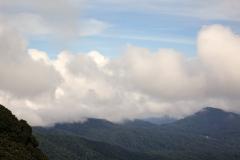 Nous sommes au niveau des nuage
