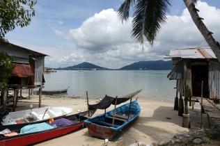 Une plage idyllique
