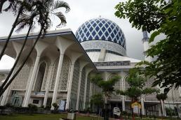 La mosquée bleue et son plus grand dome au monde