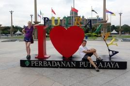 Une pose J,aime Putrajaya