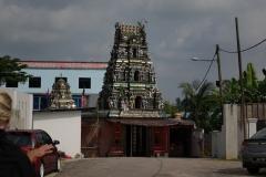 L'extérieur du temple