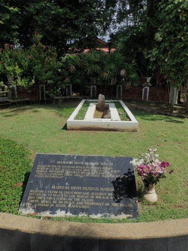 La mauselée de Mahsuri