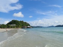 L'une des nombreuses plages de Langkawi
