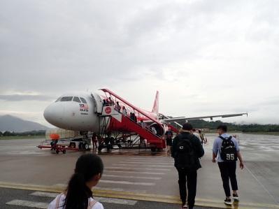 SUr le Tarmac vers Kuala Lumpur