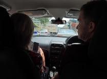 Bon, faut se débrouiller dans le traffic, un contraste avec Langkawi