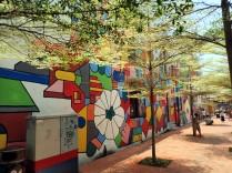 Certaines rues sont colorés