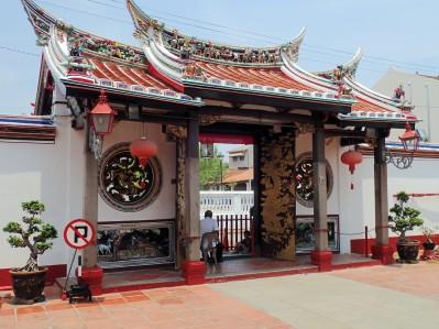 Visite d un temple chinois