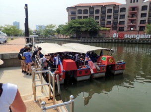 Premenade en bateau sur la rivière