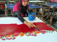 Une courte démonstration de Batik