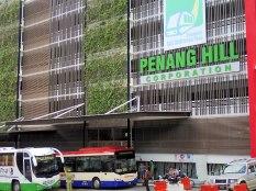 EN route vers Penang Hill