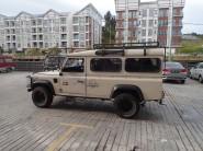 Notre transport pour la forêt de mousses