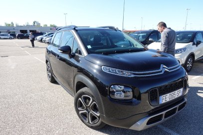 Une Citroën sera notre carosse pour notre voyage