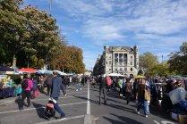 Le marché du samedi à Zurich