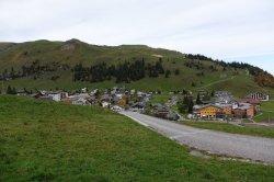 Vue du village de Stoos
