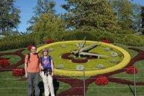 L'horloge du jardin anglais