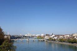 Vue de la rivière et du pont