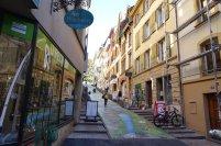 De belles rues colorées