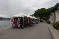 Le marché du vendredi à Montreux