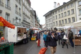 Une visite du marché du samedi