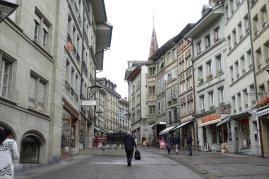 La rue pietoniere qui nous amène à l office du tourisme