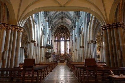L intérieur de la cathédrale