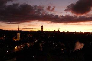 Le soleil se couche sur Berne et nous quittons demain matin
