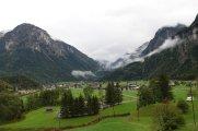 Enfin, le petit village où nous couchons perdu entre les montagnes