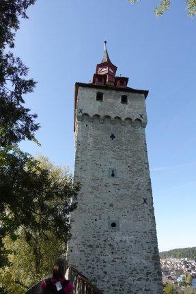 Une tour des remparts