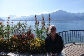 Sur la terrasse de Montreux