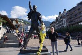 Cynthia avec Freddie Mercury
