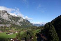 Vue de la vallée à partir du téléphérique