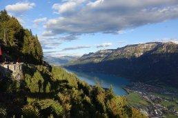 L'un des 2 lacs entre Interlaken