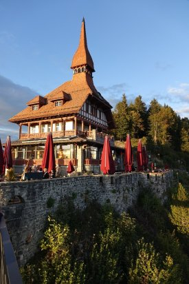 Restaurant en haut au Harder Kulm