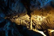 On peut y voir des stalagmite